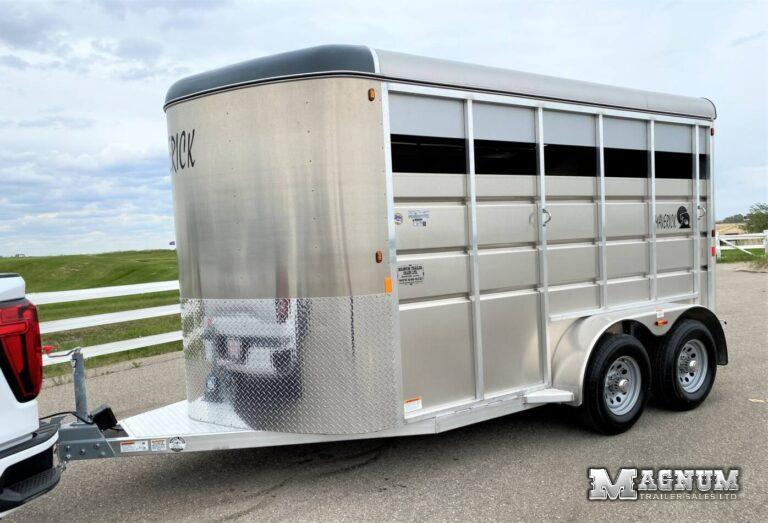 2021 Maverick 14′ LITE Aluminum Bumper Pull Stock Empty