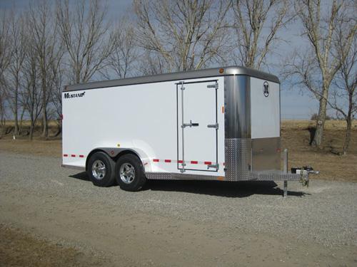 Mustang 16′ Bumper Pull Cargo