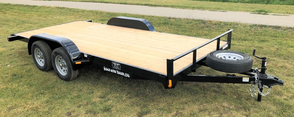 Snake River 16′ Competitor Flatbed