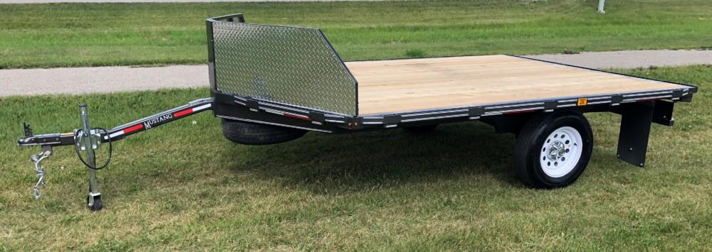 Mustang Flat Deck Trailer