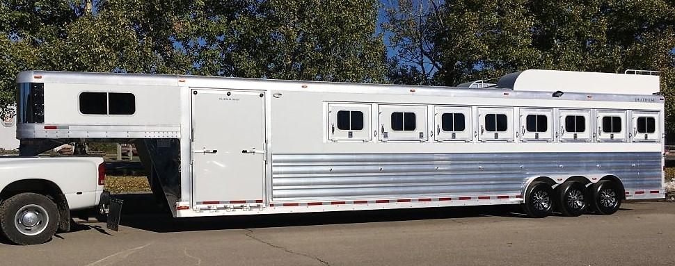 Platinum Coach 8 Horse Gooseneck