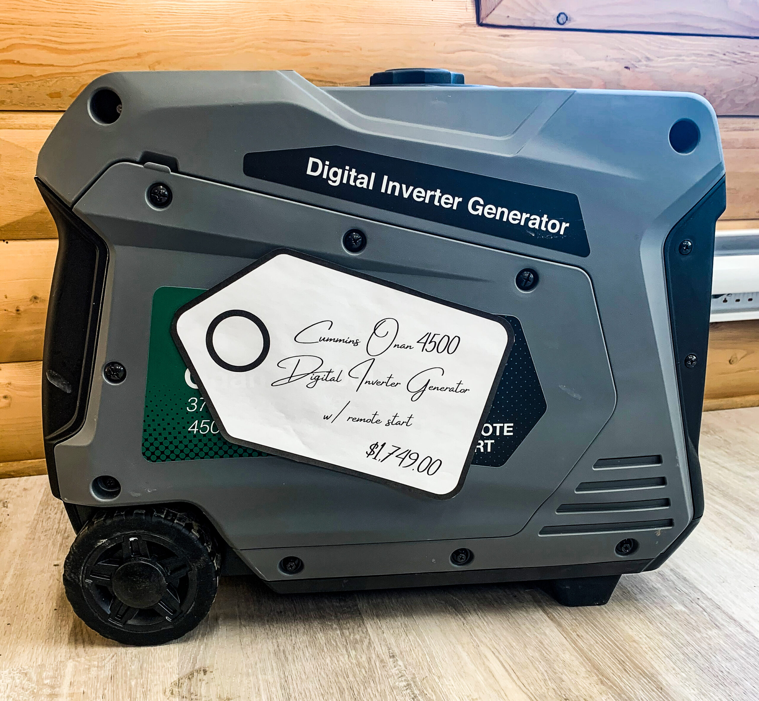 Cummins Onan 4500 Digital Inverter Generator w/ Remote Start