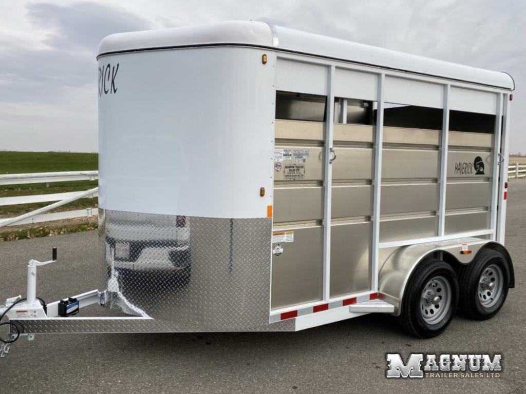 2021 Maverick 13′ 2 Horse Bumper Pull