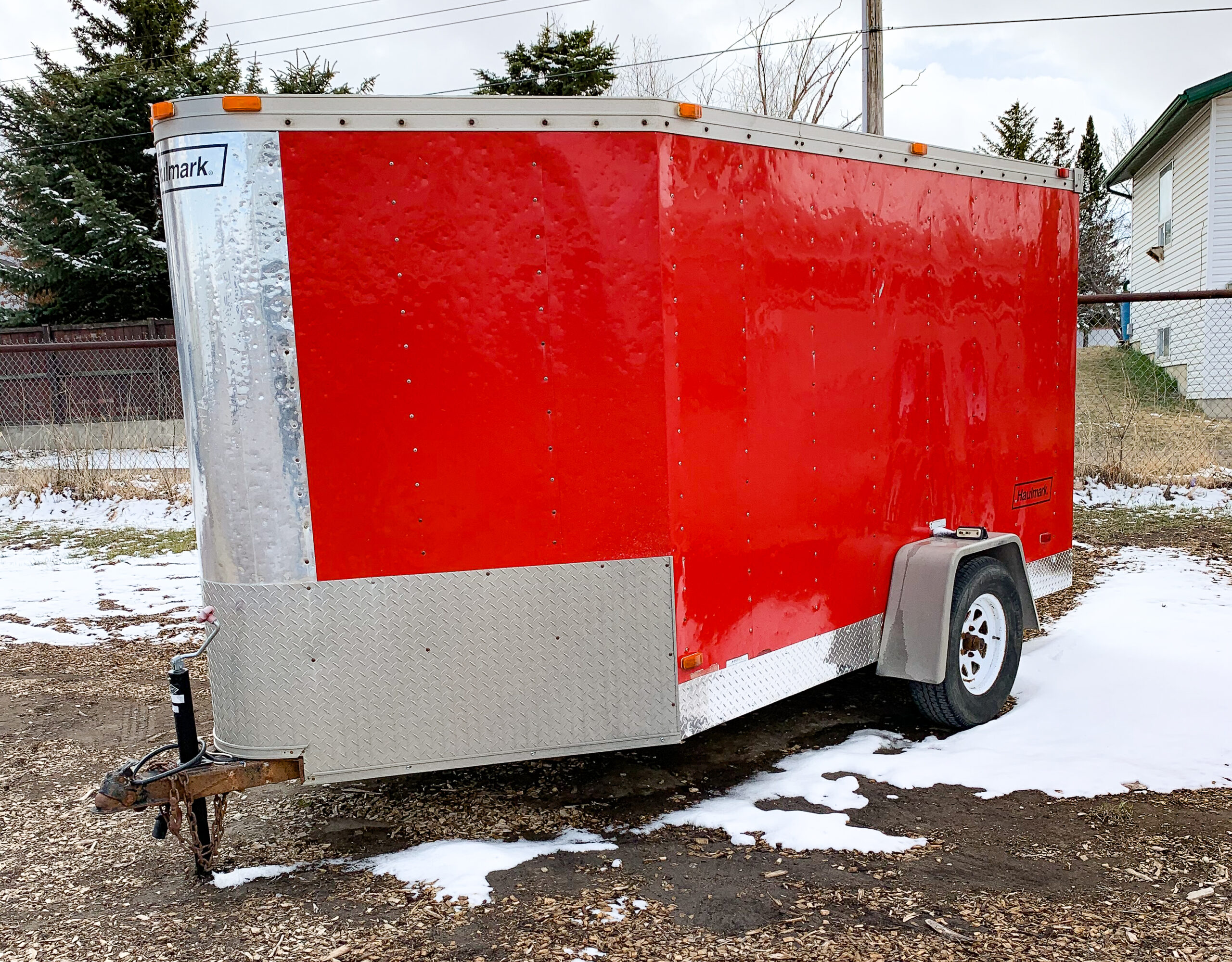 2001 Haulmark 13′ Single Axle Cargo Trailer