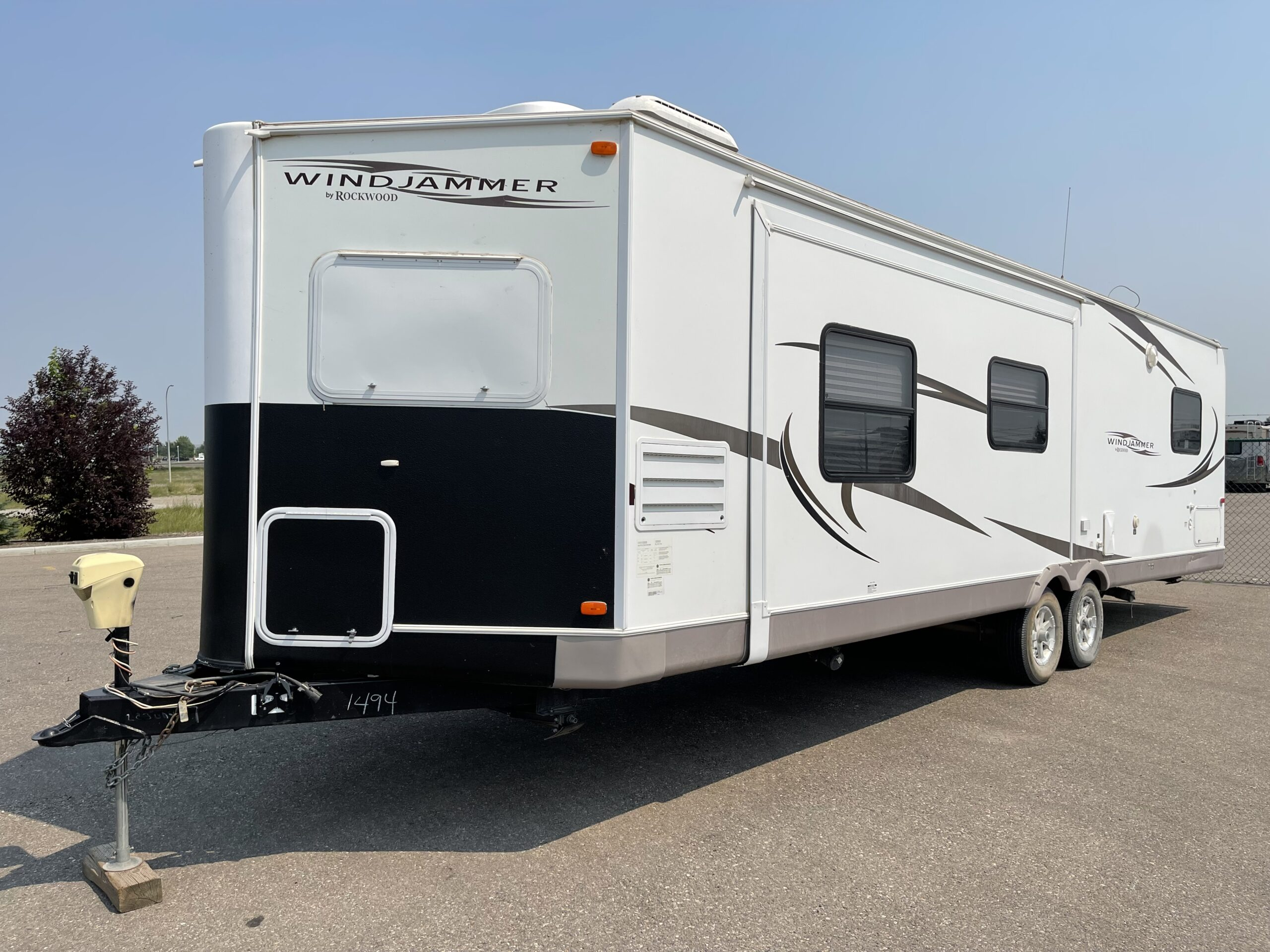 2010 Rockwood by Forest River Windjammer M-3008W Camping Trailer