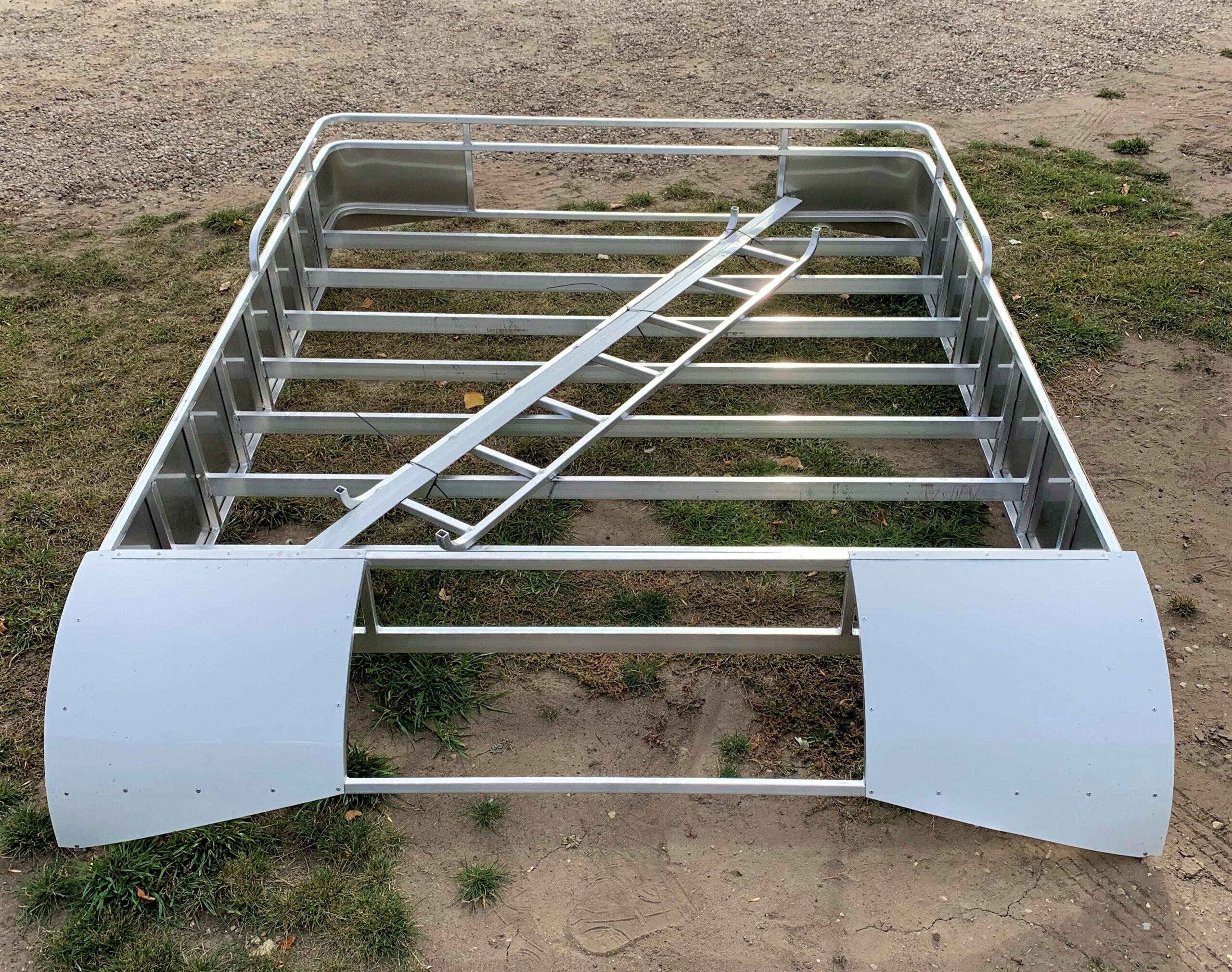 Platinum Coach 8′ Long Aluminum Hay Rack and Ladder